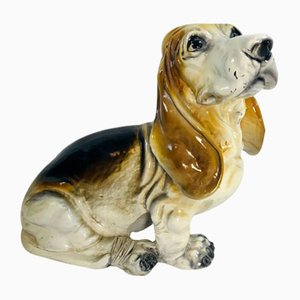Vintage Basset Hound Sculpture from King, 1960s