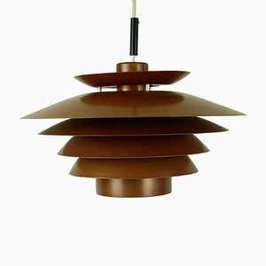Scandinavian Copper Pendant from Design Light, 1960s