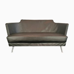 Italian Black Sofa by Julez Enrico Franzolini for Moroso, 2000s