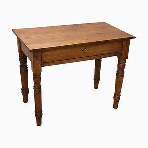 Antique Italian Walnut Desk, 1850s