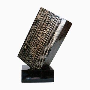 Escultura Equilibrio Pecario de Angelo Rinaldi, años 90