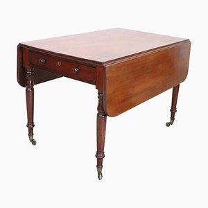 Tavolo da pranzo allungabile in mogano, metà XIX secolo