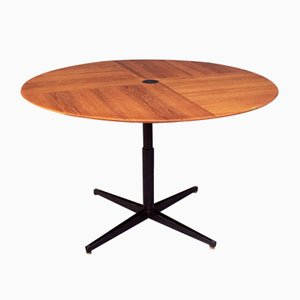 Mid-Century Italian Teak Model T441 Dining Table by Osvaldo Borsani for Tecno, 1950s