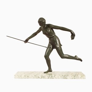 Art Deco Diane Skulptur von Nitche, 1930er