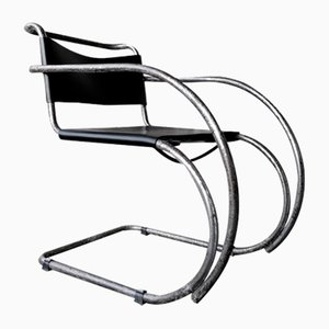 Model MR20 Armchair by Ludwig Mies van der Rohe for Joseph Möller, 1920s