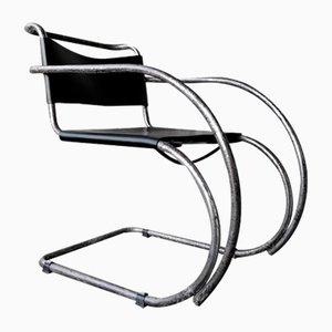 Modell MR20 Armlehnstuhl von Ludwig Mies van der Rohe für Joseph Möller, 1920er