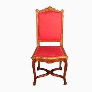 Chaises de Salon Regency Antiques en Chêne Sculpté, Set de 8