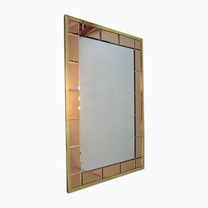 Großer Italienischer Mid-Century Spiegel