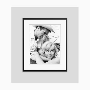 Monroe in the Misfits 1961 Archival Pigment Print Framed in Black by Everett Collection