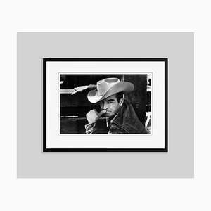 Montgomery Clift in the Misfits 1961 Archival Pigment Print Framed in Black by Everett Collection