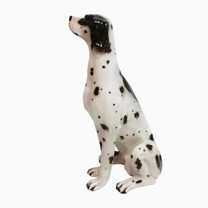 Vintage Ceramic Dog, 1970s