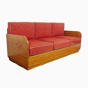 Sofa by Jindřich Halabala for UP Závody, 1950s