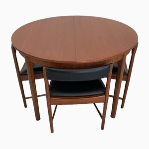 Vintage Dining Table & Chairs Set from McIntosh, 1960s, Set of 5