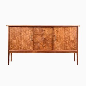 Brass and Walnut Sideboard from Vanson, 1960s