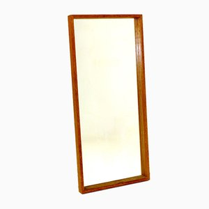 Solid Oak Mirror from Glas & Trä, 1960s