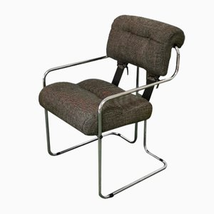Chaise de Salon Tucroma en Chrome et Métal Plaqué Chrome par Guido Faleschini pour I4Mariani, 1970s