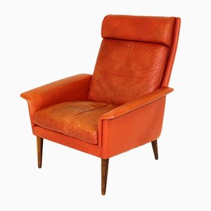 Swedish Rosewood Lounge Chair from Bramin, 1960s