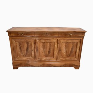 19th Century Louis Philippe Style Solid Cherrywood Sideboard