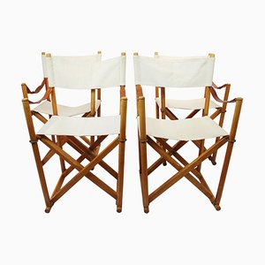 Model MK99200 Folding Chairs by Mogens Koch, 1960s, Set of 4