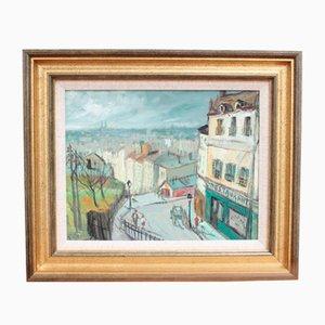 Tejados de París de Georges Regnault, años 60