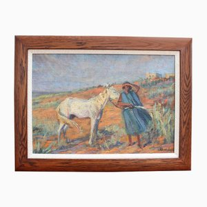 El caballo y la mujer de Lucien Madrassi, años 30