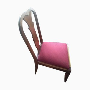 Antique Wood Armchair