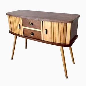 Wooden Chest of 5-Drawers, 1970s