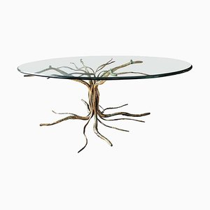 Italian Coffee Table from Salvino Marsura, 1970s