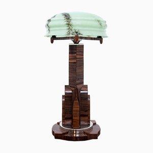 Lampada da tavolo in stile Art Déco, anni '90
