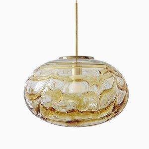 Lampada da soffitto Mid-Century in vetro di Murano di Doria Leuchten, anni '60