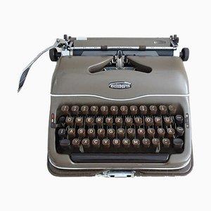 Máquina de escribir alemana Mid-Century con estuche de Triumph, años 50