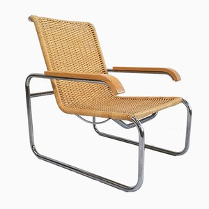 Model S35 Lounge Chair by Marcel Breuer for Thonet, 1970s
