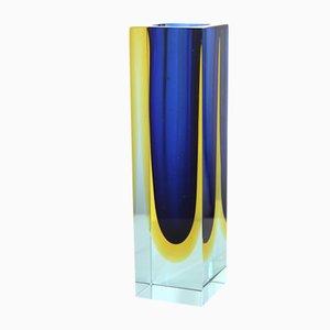 Jarrón italiano de cristal de Murano de V. Nason & Co., años 60