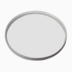 Miroir en Plastique Blanc, 1960s