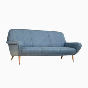 3-Seater Model 830 Sofa by Gianfranco Frattini for Cassina, 1950s