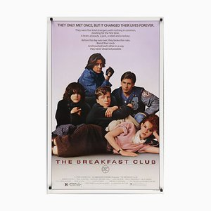 The Breakfast Club Vintage Poster 1985