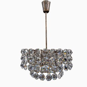 Austrian Crystal Chandelier from Bakalowits & Söhne, 1960s