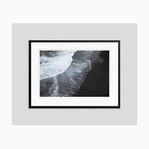 Black Tide Oversize Archival Pigment Print Framed in Black by Tim Graham