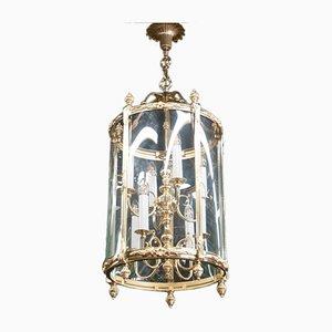 Mid-Century Lantern Chandelier, 1950s