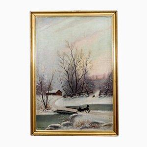 Winter Landscape Painting, 1996