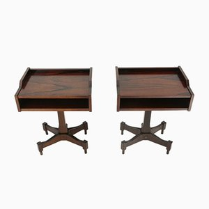 Wooden Nightstands by Claudio Salocchi for Luigi Sormani, 1960s, Set of 2