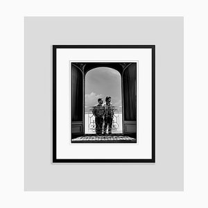 The Coen Brothers in Black Frame by Kevin Westenberg