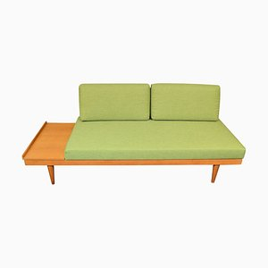 Vintage Norwegian Oak Daybed Sofa by Ingmar Relling & Haldor Vik for Ekornes, 1960s
