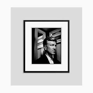 David Lynch in Black Frame by Kevin Westenberg