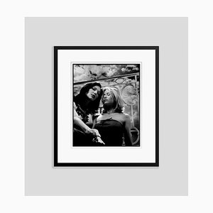 Laura and Naomi in Black Frame by Kevin Westenberg