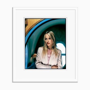 Patricia Arquette in White Frame by Kevin Westenberg