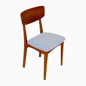 Chaises de Salon en Teck et en Chêne, Danemark, 1960s, Set de 5