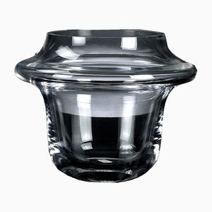 Atollo Bowl in Transparent Glass from Vgnewtrend
