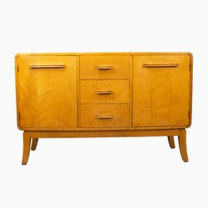 Finnish Birch Model A No. 283 Sideboard by Harald Honkanen for Asko, 1938