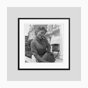 Anne Baxter No Smoking in Black Frame
